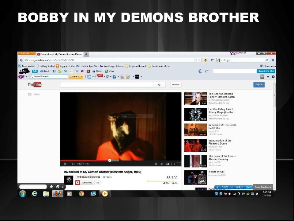 bobbys in my demons brother