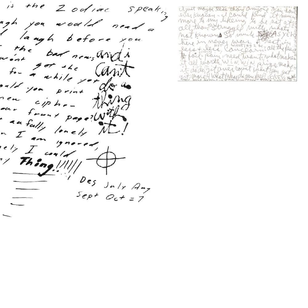 handwriting of manson matches