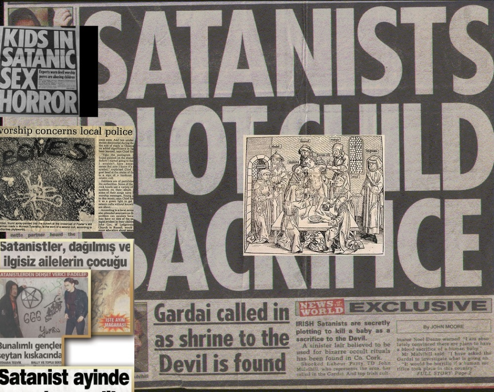 newspaper pics of child sacrifice